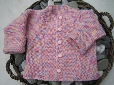 Garterstitchbabysweater